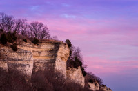 Bluffs over Great River Road-Illinois